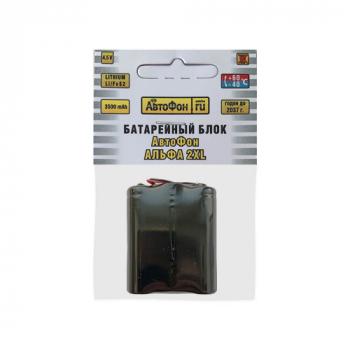 Батарейный блок для АвтоФон АЛЬФА 2XL, лицевая сторона