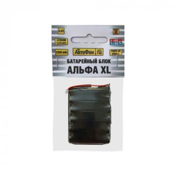 Батарейный блок для АвтоФон АЛЬФА XL, лицевая сторона