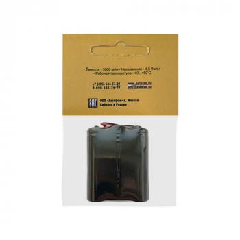 Батарейный блок для АвтоФон АЛЬФА 2XL, оборотная сторона